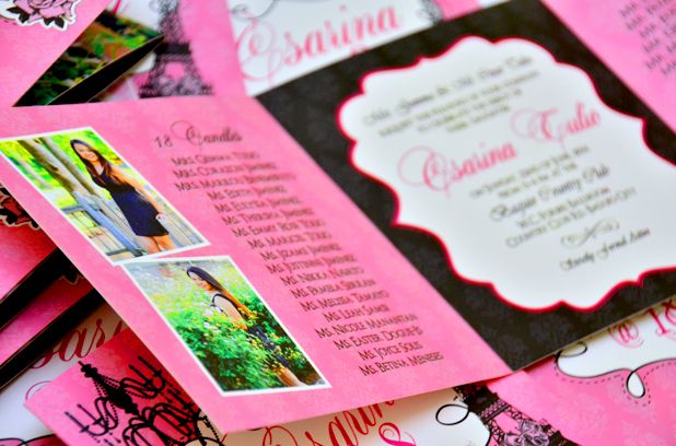 Cabriniu0027s Pink Themed Debut Invitation u201cTurning 18 is one of the - best of sample invitation letter debut party