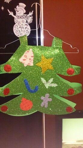 Navidad Disfraz Arbol Goma Eva Bebe Disfraz De árbol De Navidad árboles De Navidad Para Niños Disfraces De Navidad
