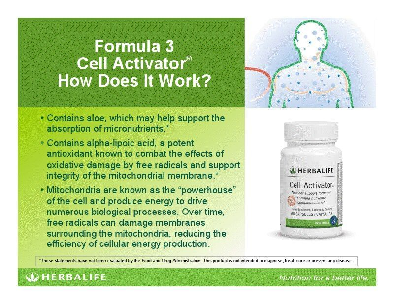 Activator Internal Healthy Cancer After Every Shake Cell With Just Body Must Say No Tocell Ac Herbalife Nutrition Facts Herbalife Herbalife Diet