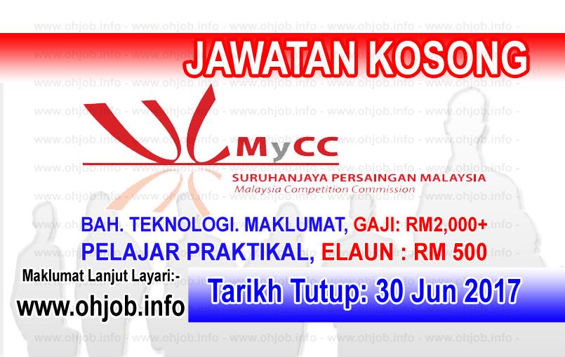 Jawatan Kosong Suruhanjaya Persaingan Malaysia MyCC (30