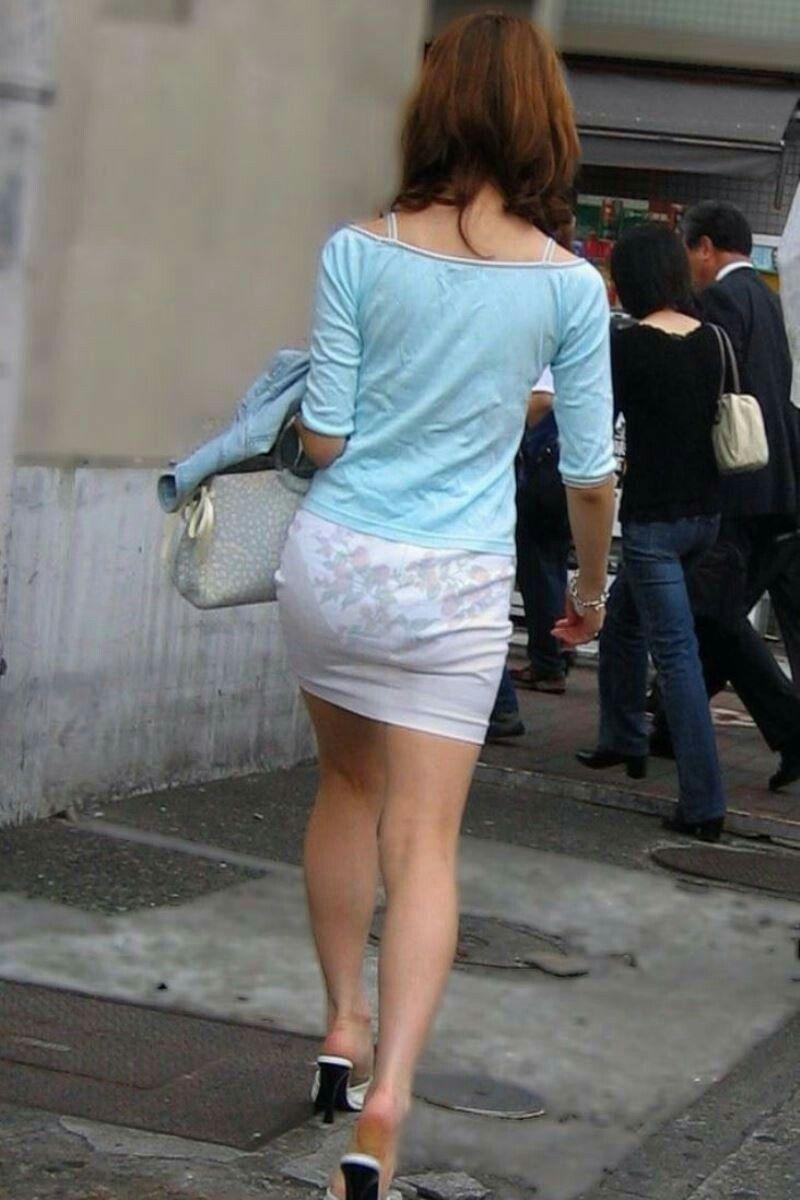 White Mini Dress Candid