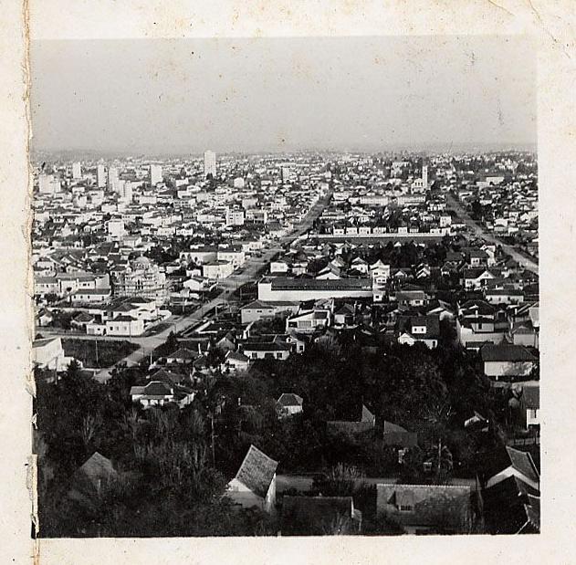 Curitiba, 1958, por João Urban