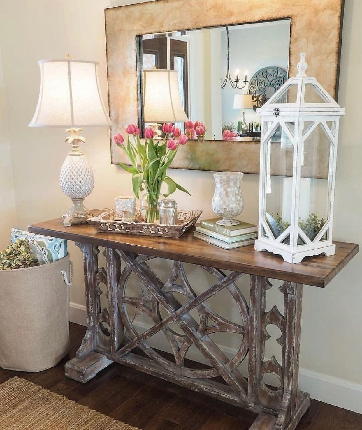 pin by neatfreak on future home hall table decor on small entryway console table decor ideas make a statement with your home s entryway id=44818