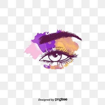 Vector Tools And Eye Makeup Makeup Tools Eye Makeup Png
