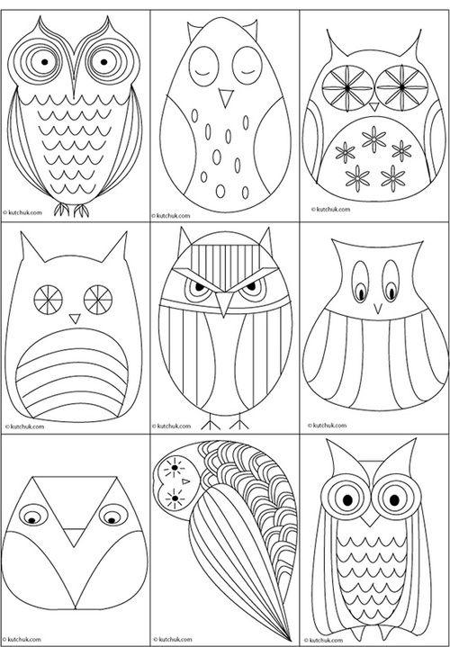 Bird Zentangle 27 Coloring Book Ideas