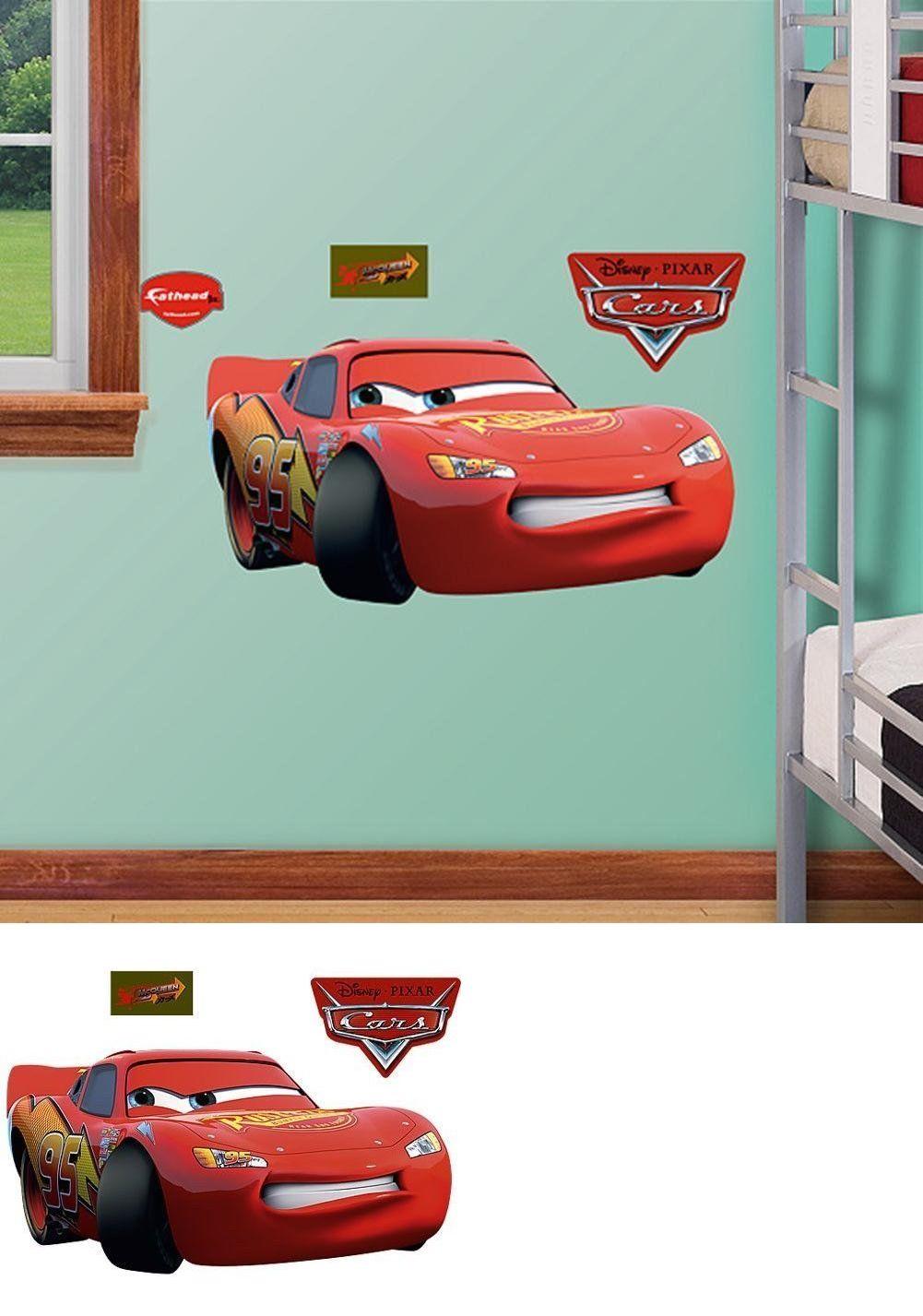 Bedroom Playroom And Dorm D Cor 115970 Cars Lightning Mcqueen Fathead Wall Decals Race 95 Room Decor Stickers Jr Disney Disney Cars Playroom Lightning Mcqueen [ 1427 x 1001 Pixel ]