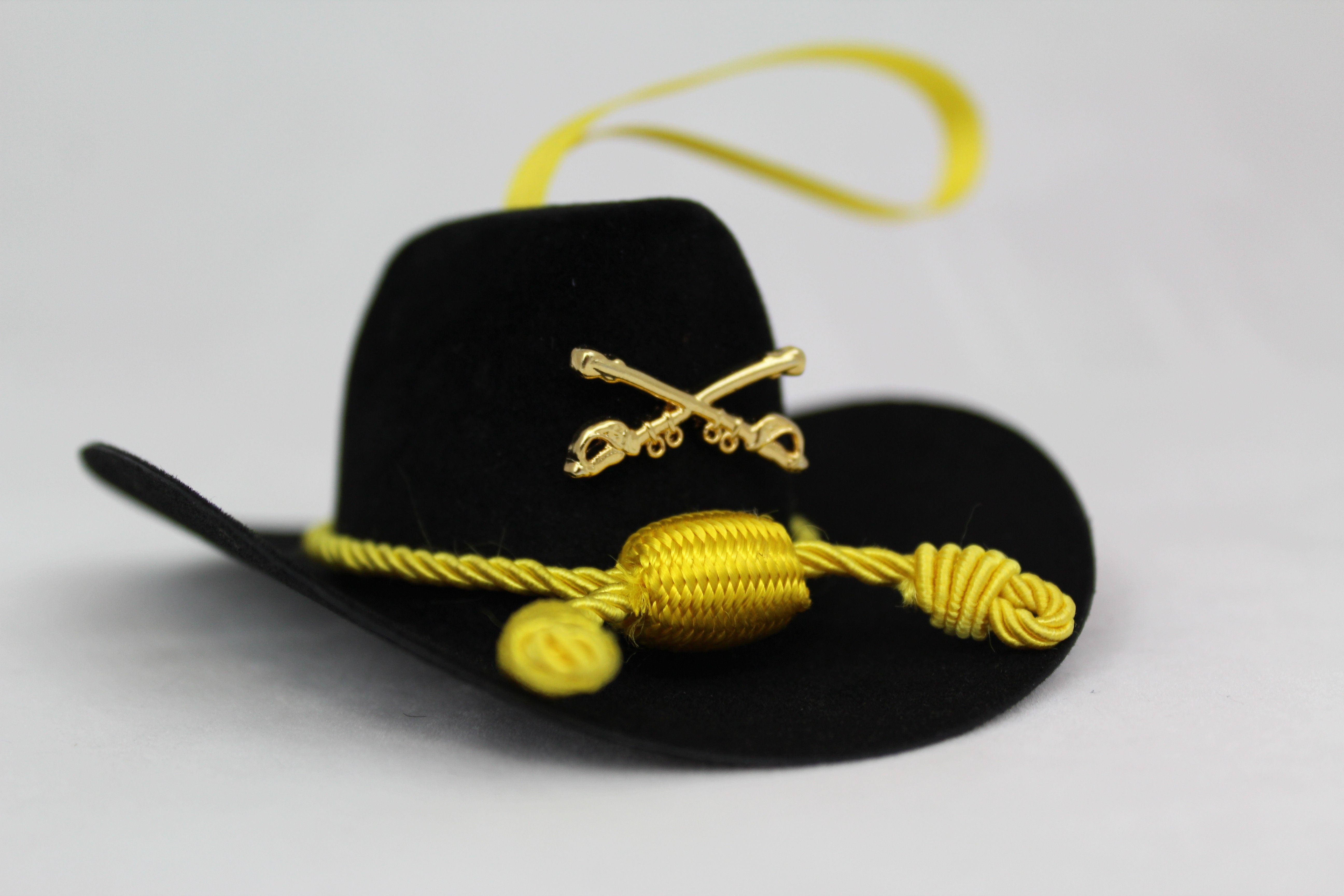 a28e66f04b93e MILITARY CHRISTMAS ORNAMENTS  Cavalry Hat ornament by CAVHOOAH  www.operationwearehere.com deploymentproducts.html