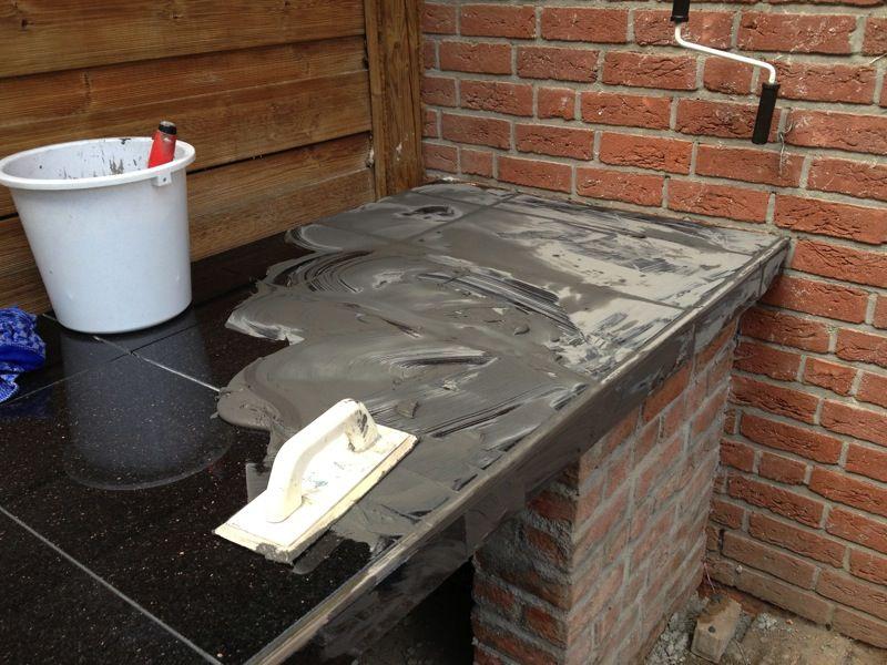 So Gut Wie Fertig Aussenkuche Selber Bauen Aussenkuche Outdoor Dusche