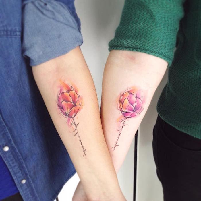 1001 blumen tattoo ideen und informationen ber ihre bedeutung tattoos tattoo ideen blumen. Black Bedroom Furniture Sets. Home Design Ideas