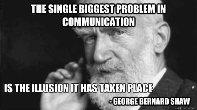 Image result for communication breakdown meme