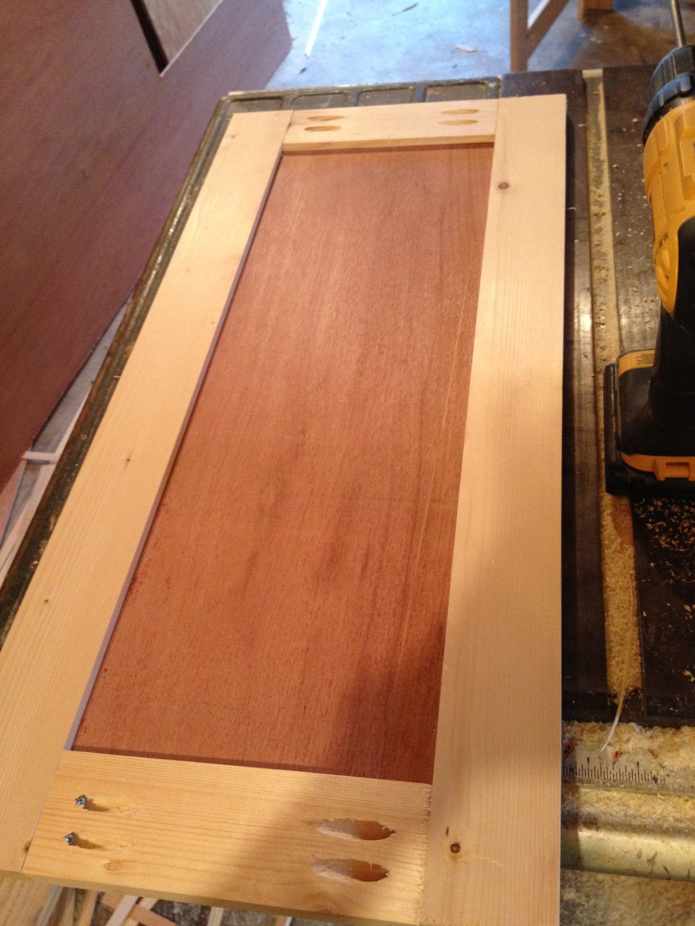 How to Make Simple Shaker Cabinet Doors--(In 4 Steps ...