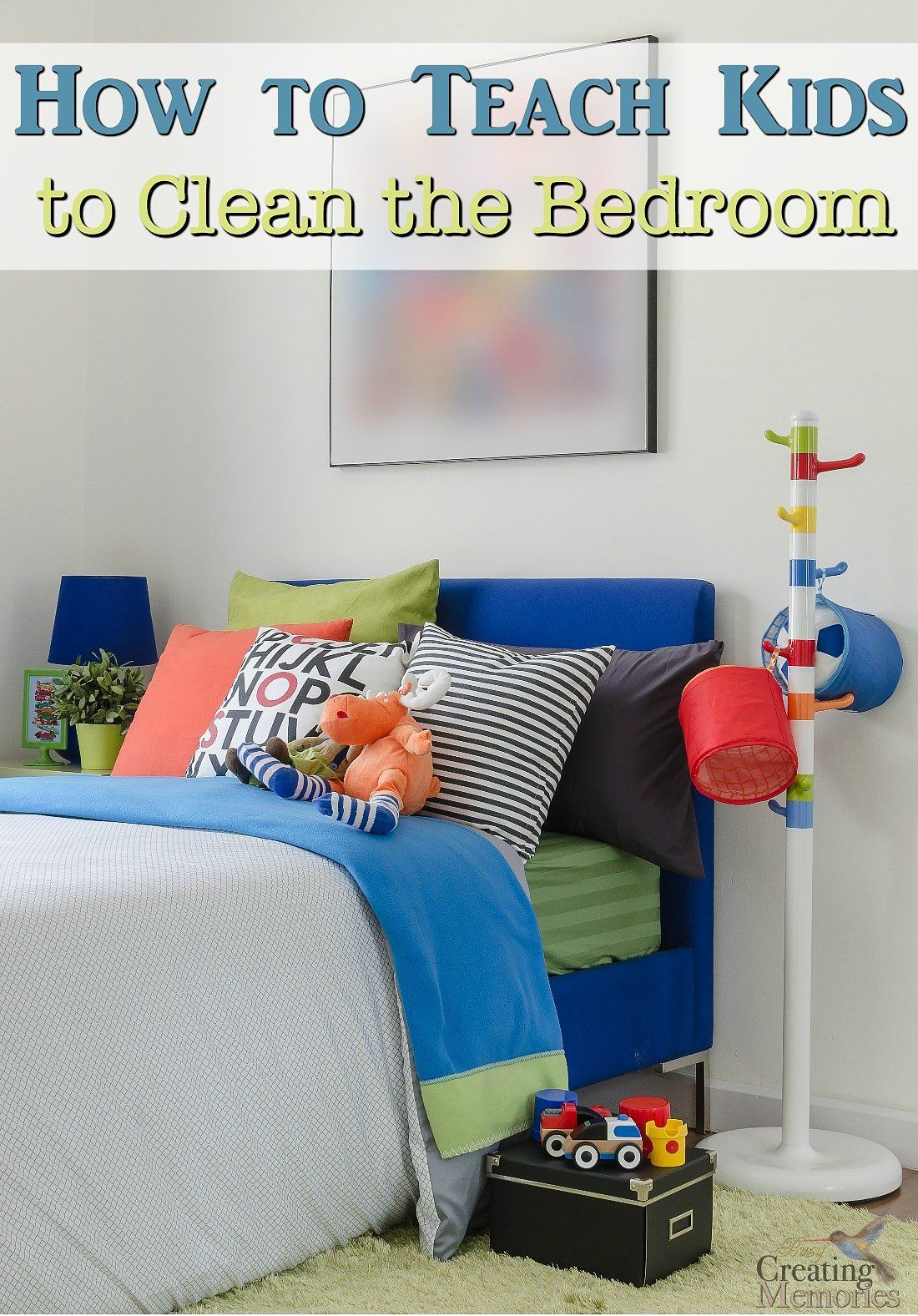 How To Clean Your Room! My Fast & Easy 4 Step System - YouTube
