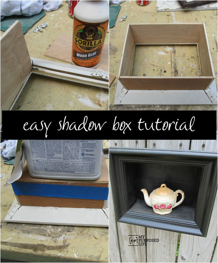 shadow box ideas to keep your memories and how to make it shadow box picture framesdiy - Diy Shadow Box Frame