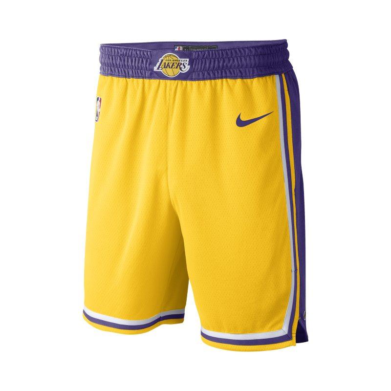 5eea2c4be Los Angeles Lakers Icon Edition Swingman Men s Nike NBA Shorts - Yellow