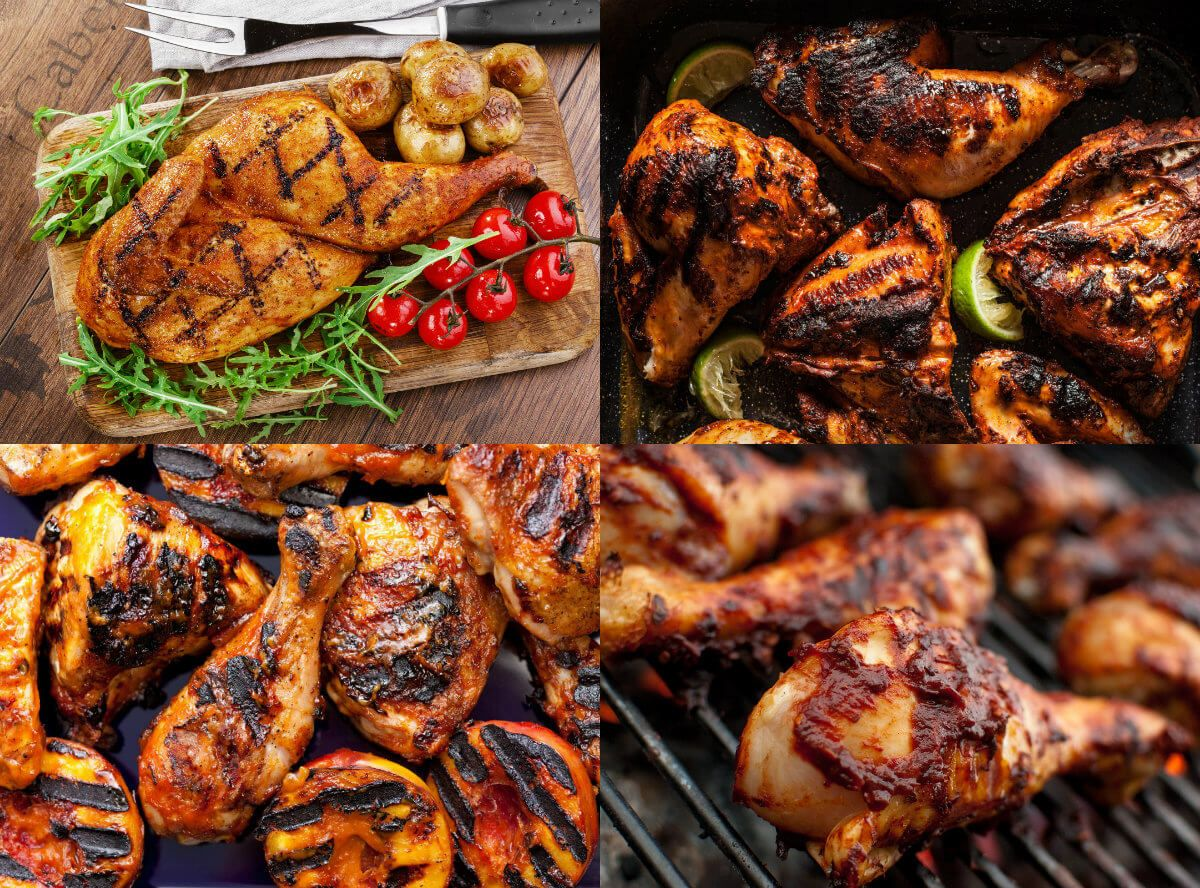 عالم الطبخ والجمال طريقة عمل الدجاج المشوي على الفحم بعشرة تتبيلات مختلفة ورائعة ستدهشك بكل تأكيد Beer Braised Chicken Food Mediterranean Recipes