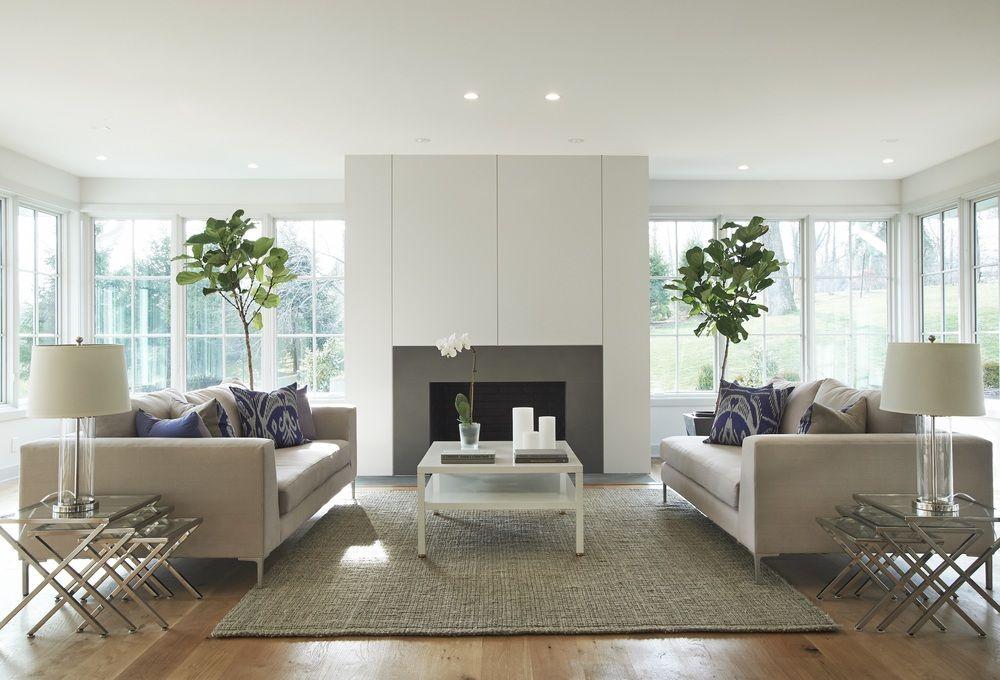 Idee soggiorno con arredamento contemporaneo for Grandi magazzini arredamento