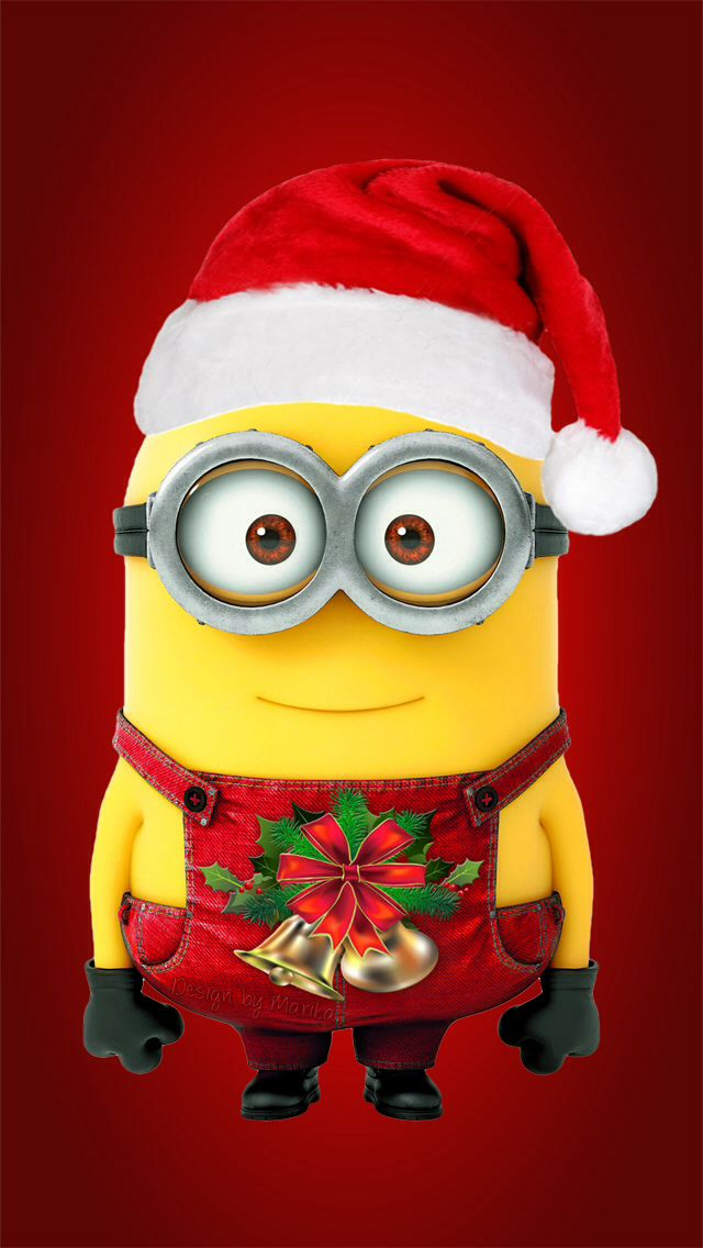 Dave The Minion Wishes You A Merry Christmas Minions Wallpaper Minions Merry Christmas Minions