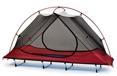 Funs Off Ground 1 Person 4 Season Backpacking Tent Cot Camp Bed Ultralight Camping Hiking Tent Cot Weight 5lb Only C Best Tents For Camping Tent Tent Cot
