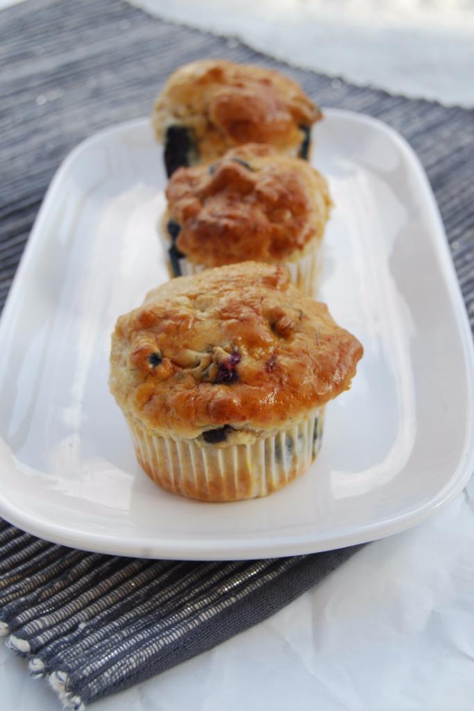 Lemon Blueberry Muffins GlutenFree, Vegan & NutFree