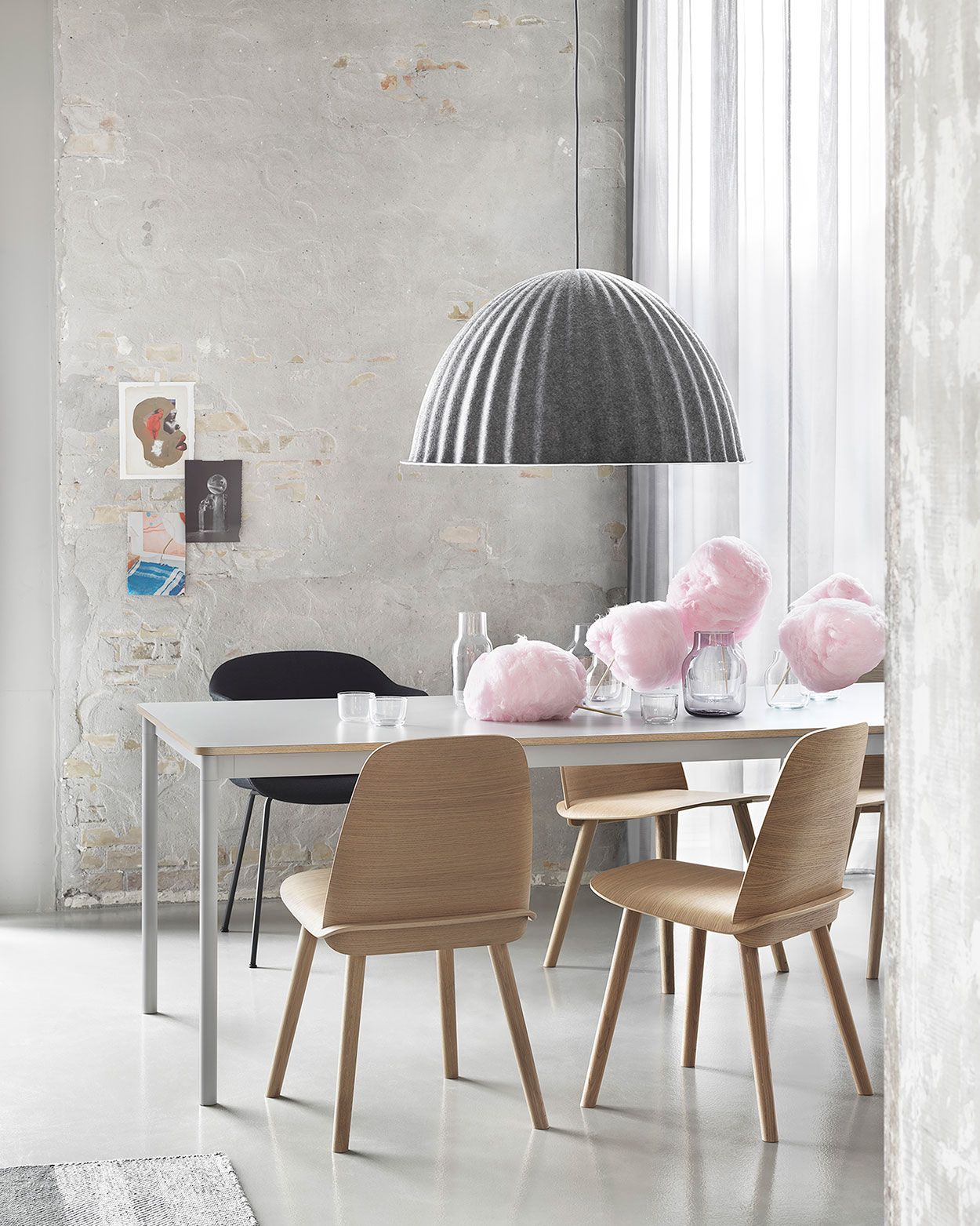 Scandinavian ligthing inspiration from muuto under the bell is a pendant lamp that is multi functional as the design not only provides an ambient light but