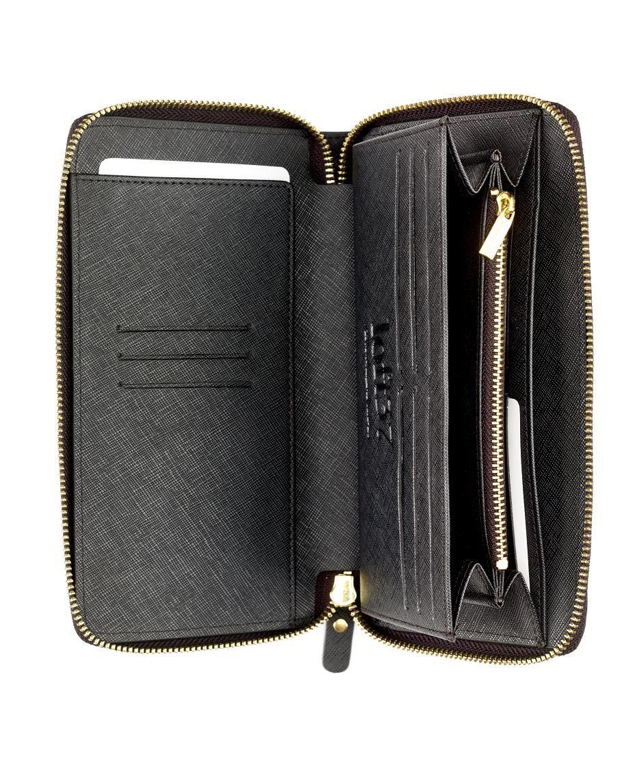 640efa1dedbf3 Czarny skórzany portfel #Loft37 to znakomity prezent dla osoby, która ceni  sobie elegancję,