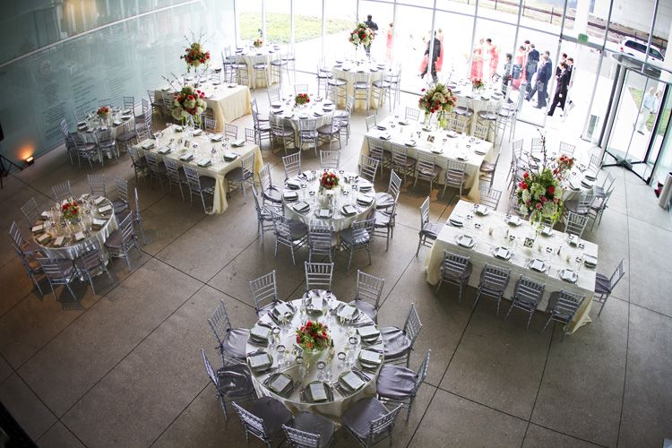 Round And Feasting Table Reception Layout Decor