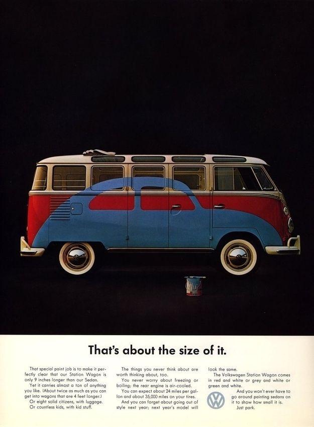 The Great Mad Men Era Volkswagen Ads