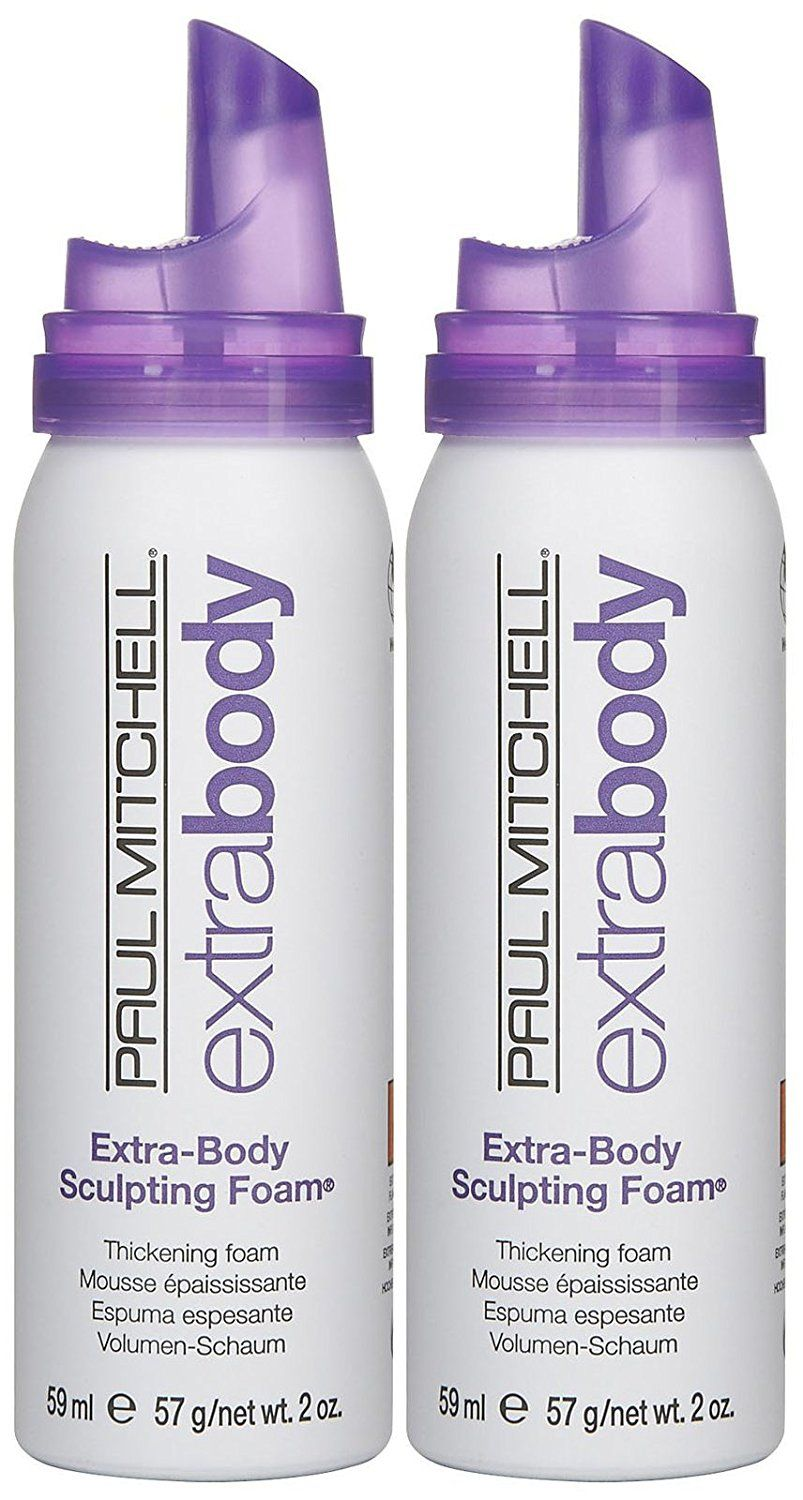 Paul Mitchell Extra Body Sculpting Foam Travel Size 2 Pk You Can