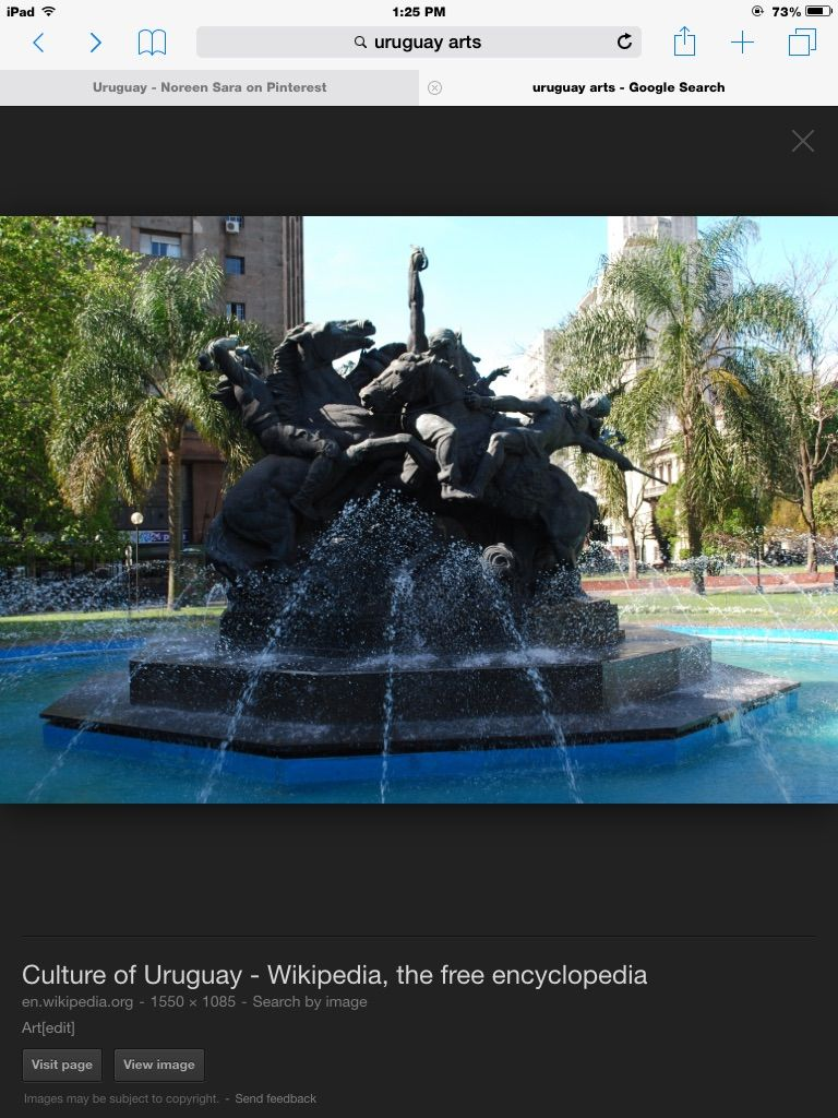 This Is One Of The Art In Uruguay And This Is Their Culture Art