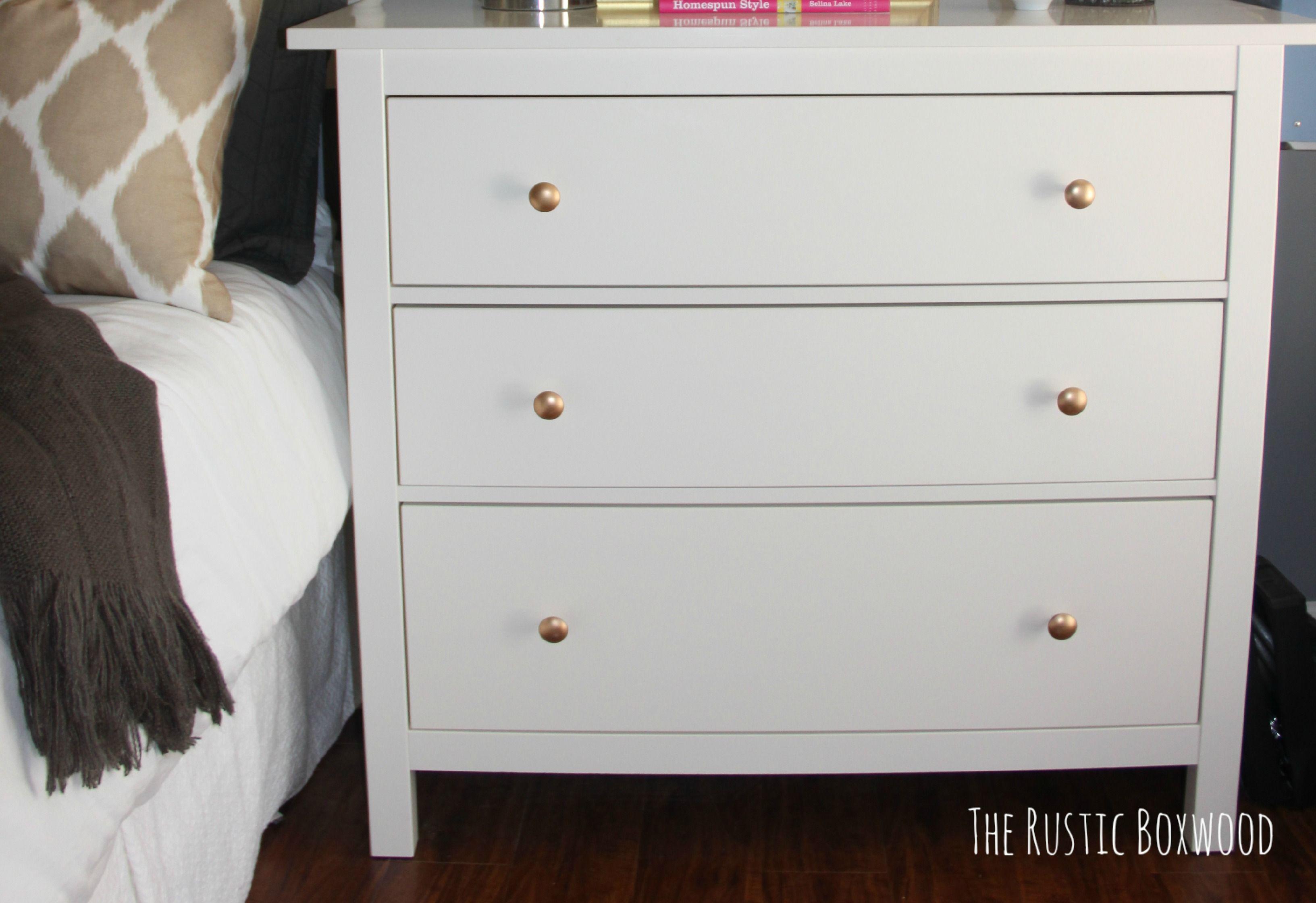 Ikea Hemnes Dresser From Drab To Fab The Rustic Boxwood Ikea