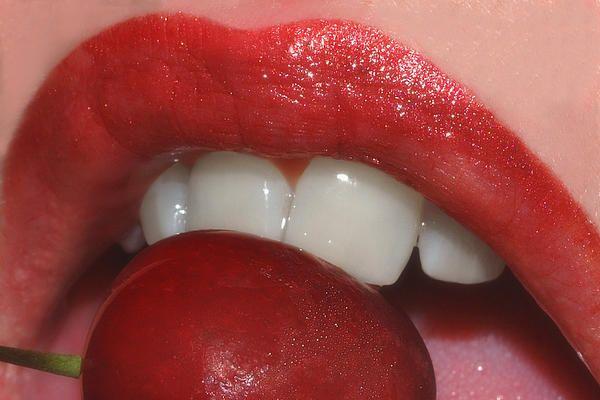 Cherry Lips By Joann Vitali Cherry Lips Lips Red Lips