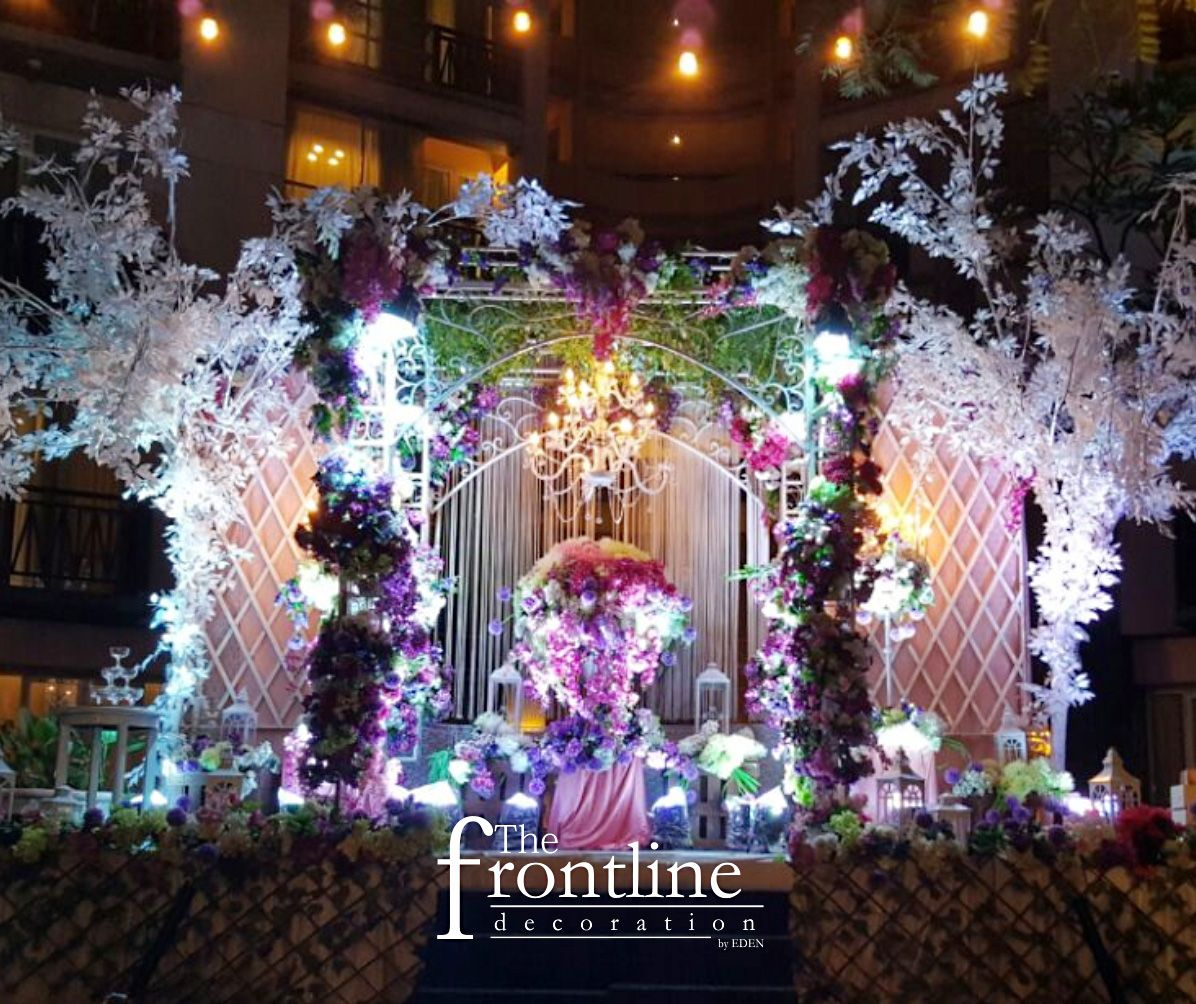 The wedding of Andre - Febe Decorated by Eden Decoration