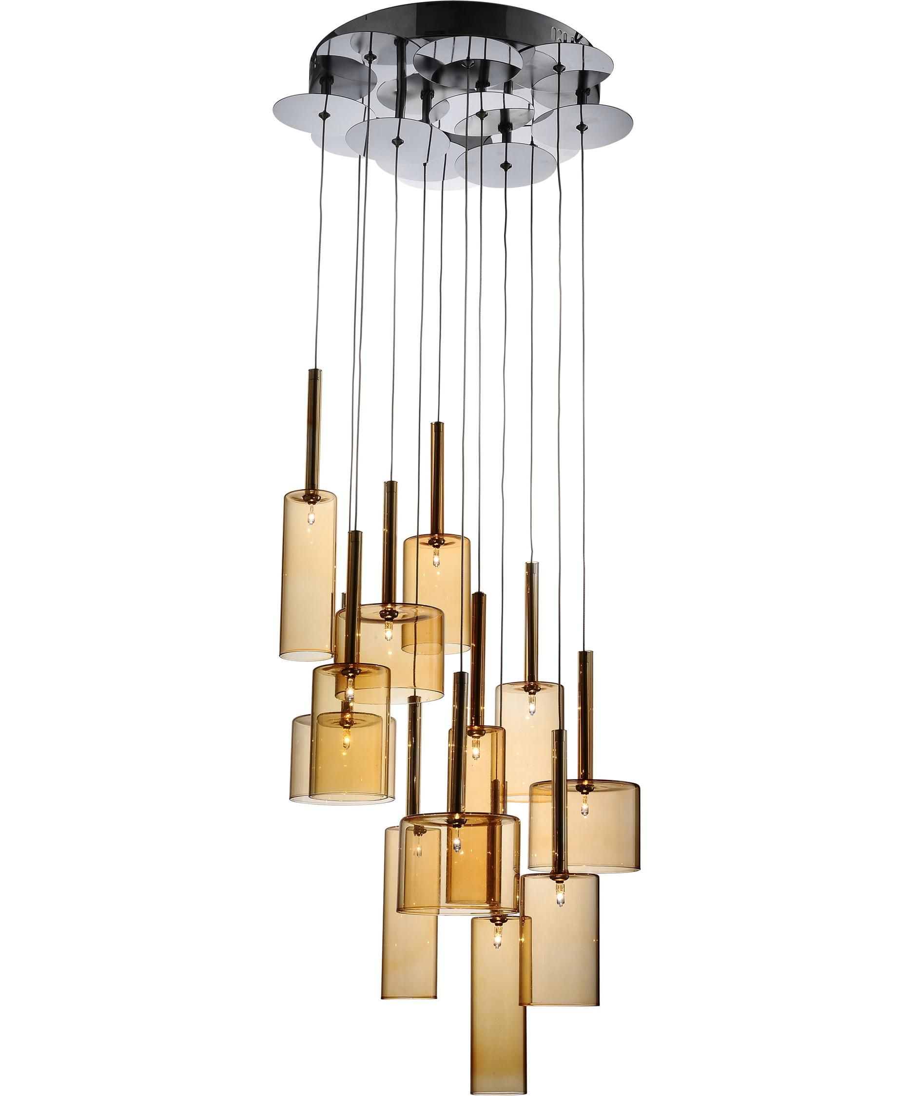 multiple pendant lighting fixtures. Artcraft AC1342 Berlinetta 18 Inch Multi Pendant Light | Capitol Lighting 1-800lighting.com Multiple Fixtures E