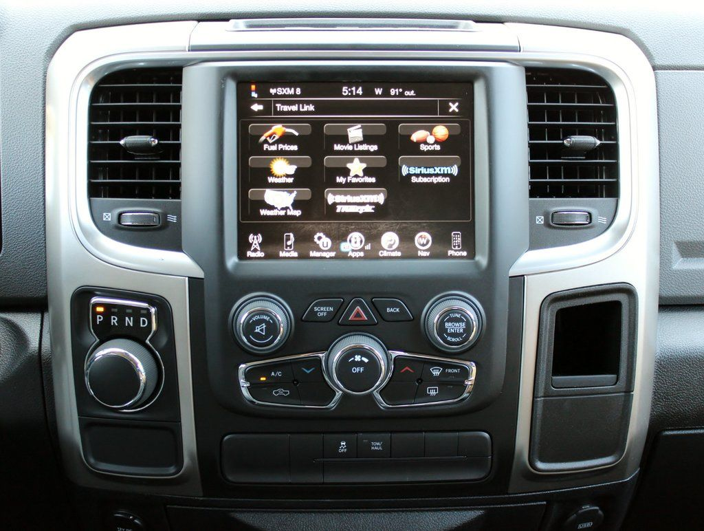 2013 2017 Factory Ram 1500 7sp Gps Navigation 8 4an Ra4 Radio