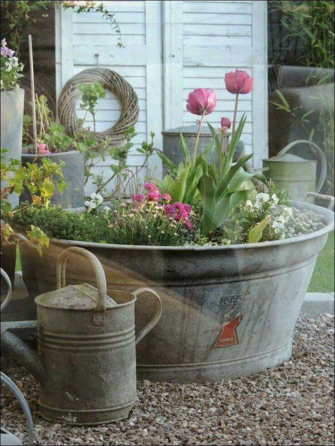 Eimer Gartenbau 54 Gardeningandlandscape Eimer Gardeningandlandscape Gartenb Beste Garten Gestaltung Vintage Garden Decor Container Gardening Garden Containers