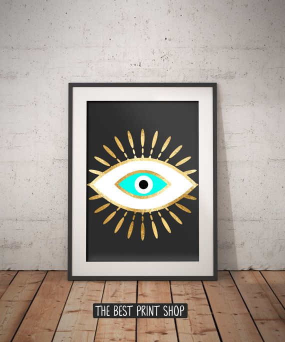 Leather Accent Tag - Art Eyes by VIDA VIDA qbB4Yk0qK