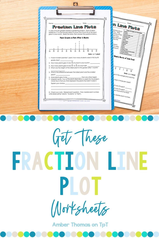 Fraction Line Plot Worksheets Line Plot Worksheets Elementary Math Lessons Math Words [ 1500 x 1000 Pixel ]