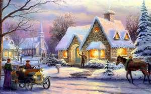 painted christmas picture - Bing images