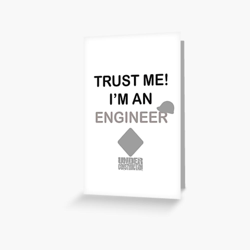 Promote Redbubble engineer engineering trust me