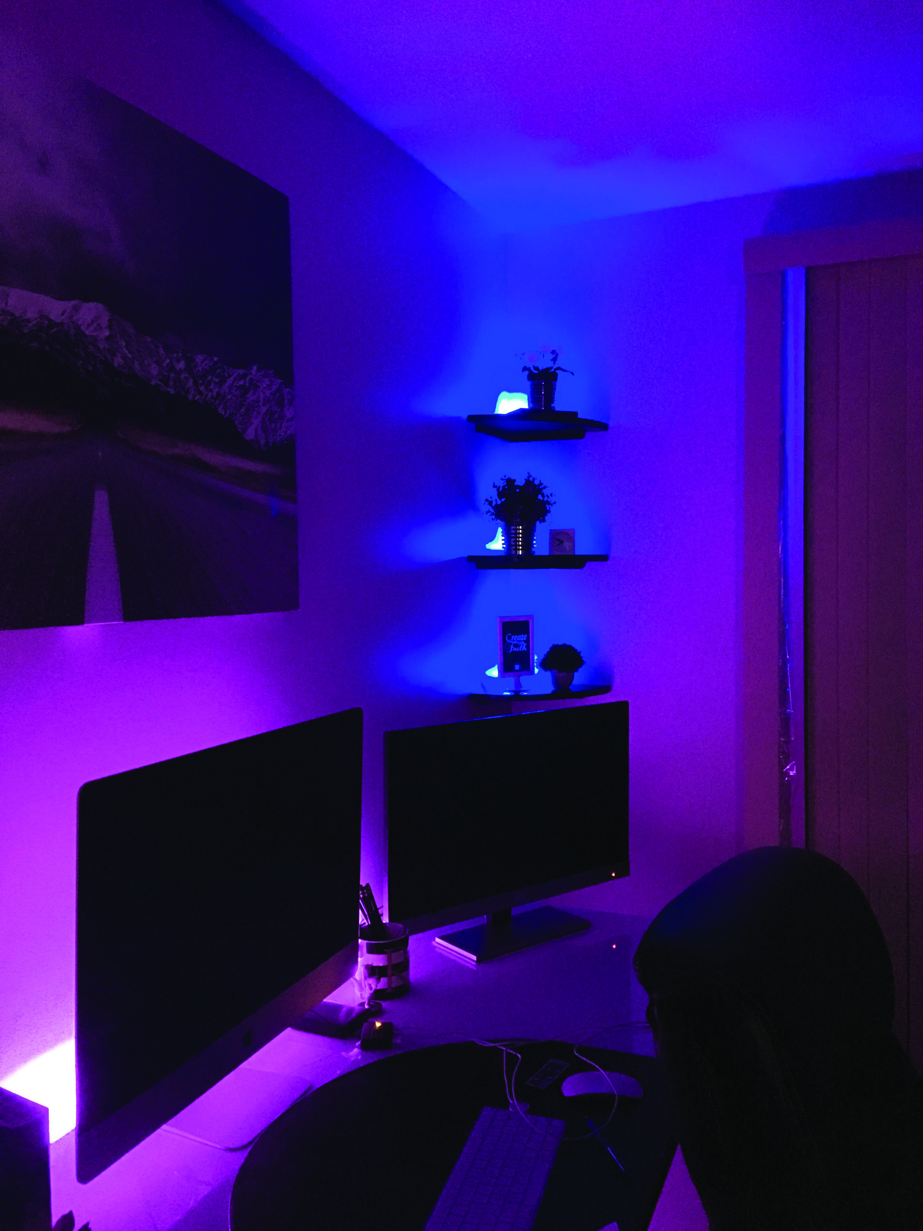 Discover Home Office Shelf Lighting Only In Shopy Home Design Led Lighting Bedroom Neon Room Awesome Bedrooms
