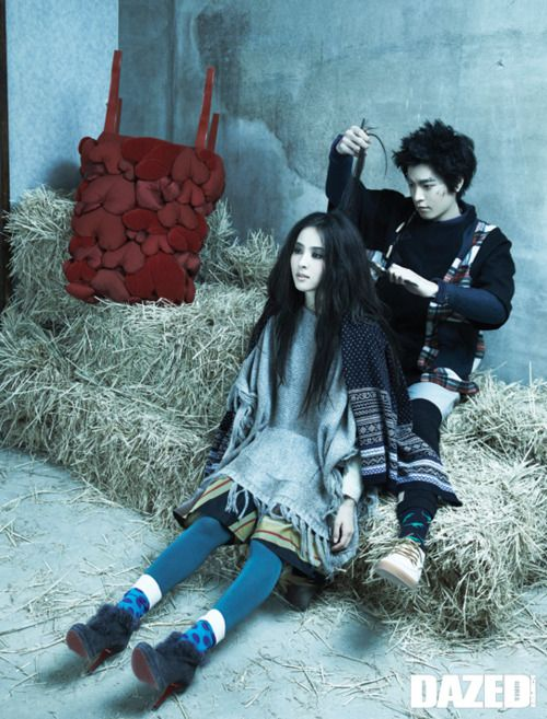 Choi A Ra by Kim Ji Yang for Dazed and Confused Korea January 2011