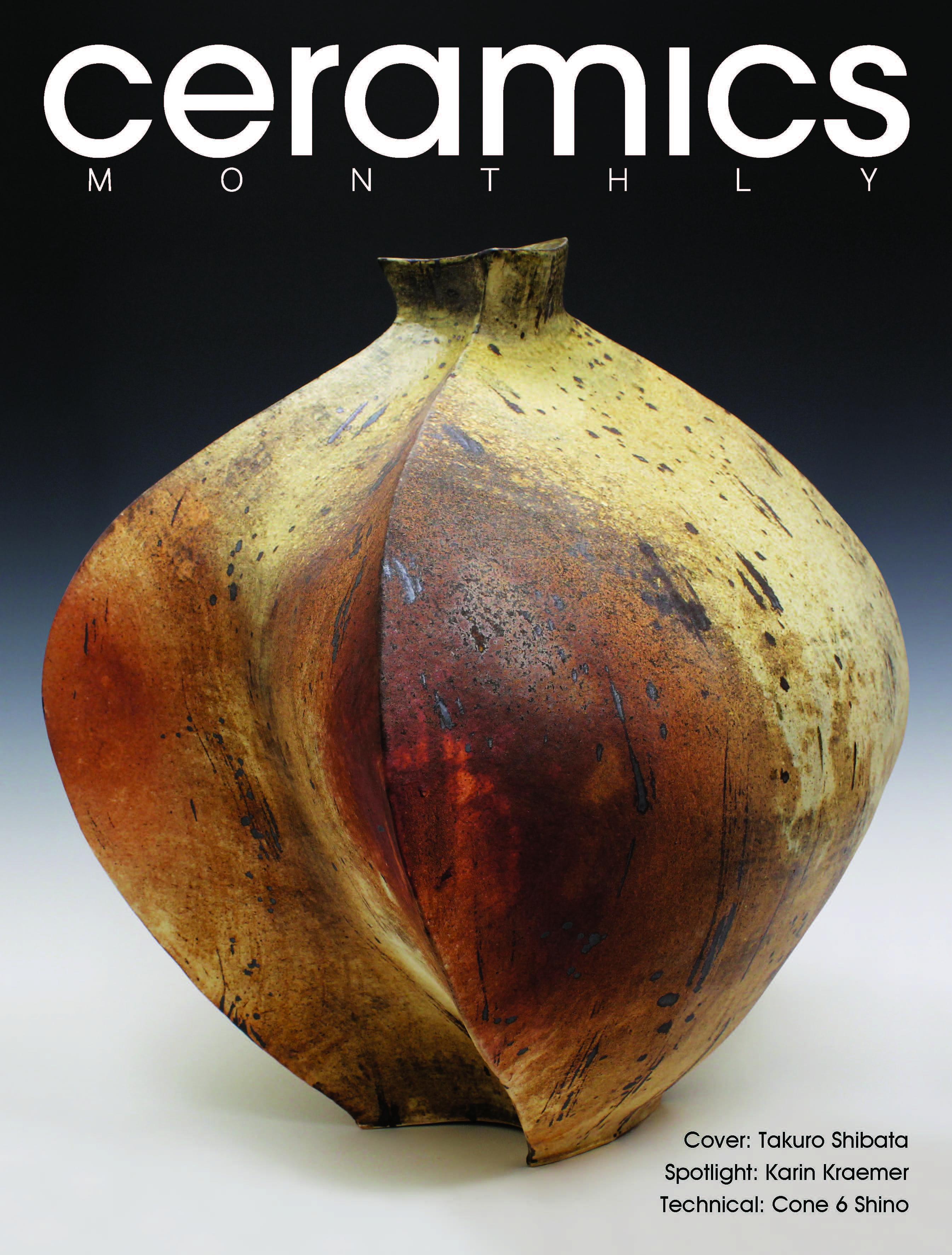 June July August 2017 Ceramics Monthly Ceramic Art Ceramics