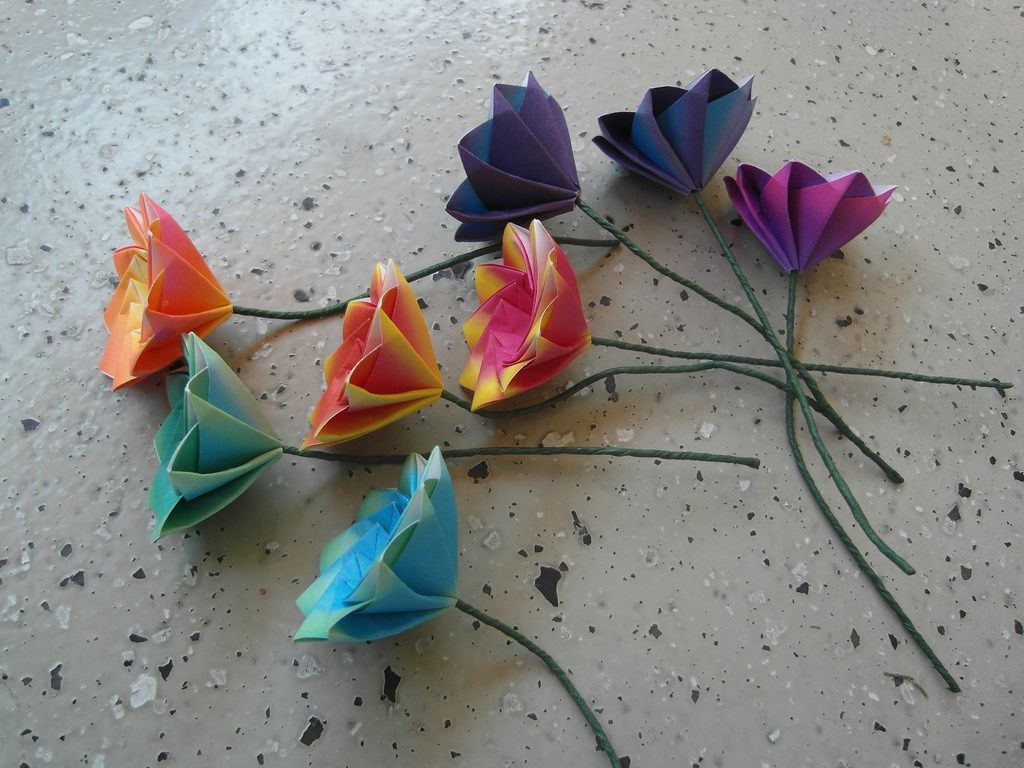 Lonely Flowers Origami Flowers Pinterest Origami Origami
