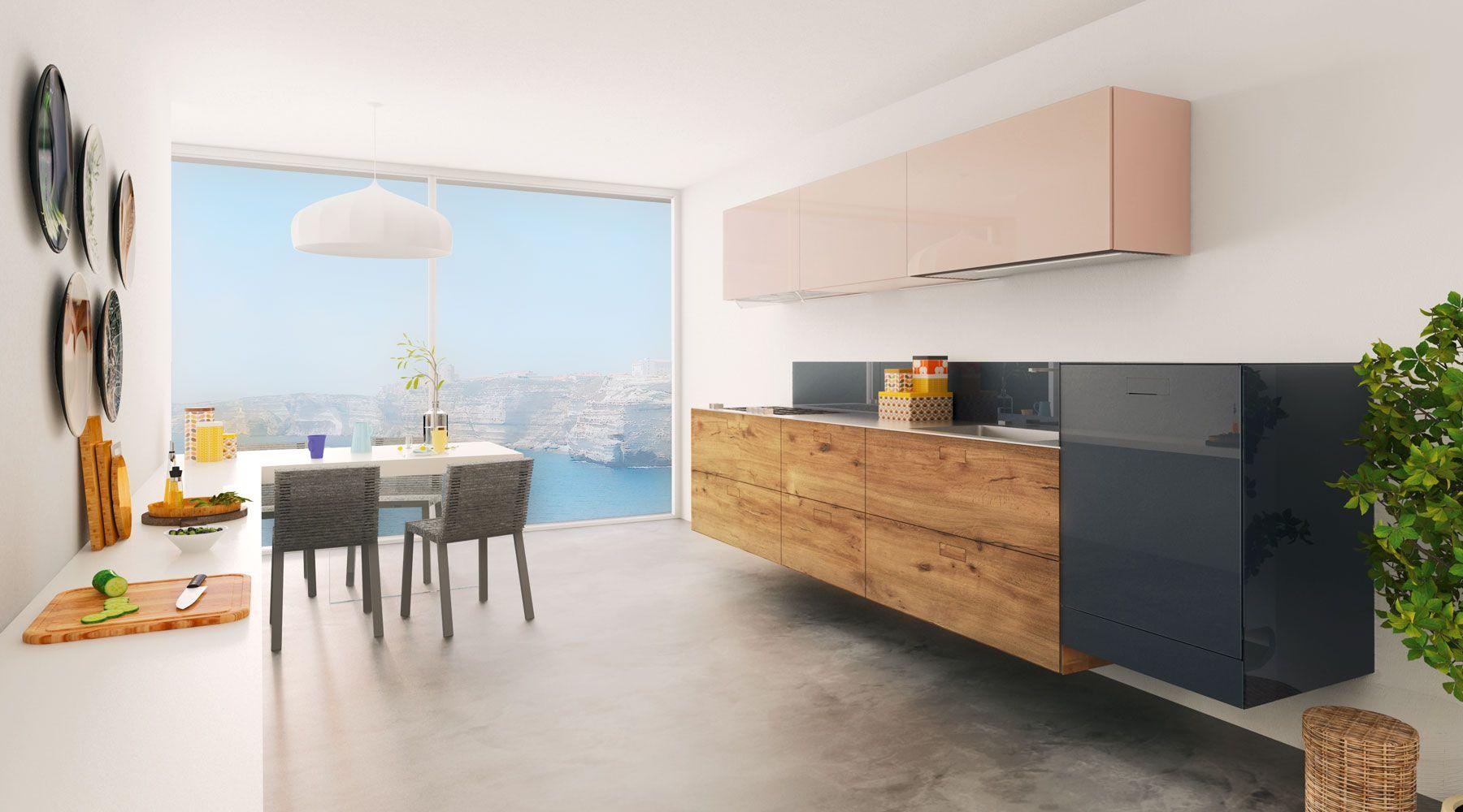 Cocina 36e8 | Modular design, Kitchens and Spaces