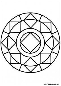 11 Mandalas Para Colorear Con Figuras Geometricas 10 Mandalas Para Colorear Mandalas Mandalas Faciles De Dibujar
