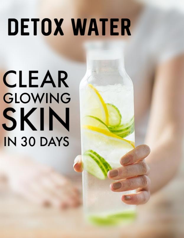 Detox Water Recipe To Get Clear Glowing Skin Skin Skincare Beauty Beautytips Diy Glowing Skin Detox Juice Clear Glowing Skin