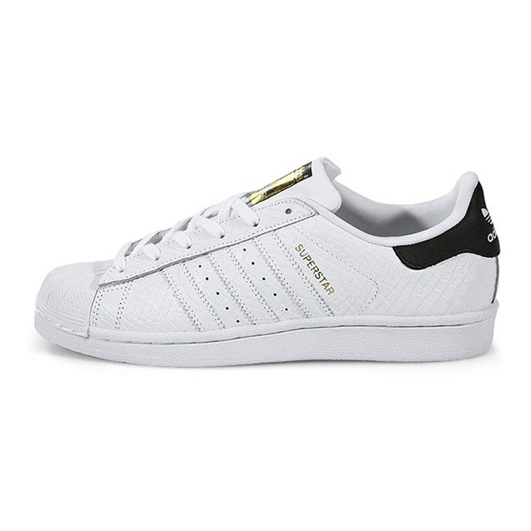 Adidas Superstar GS White Black Gold Snake Scales Junior S78655 Unisex Mens  Womans Girl/Boys