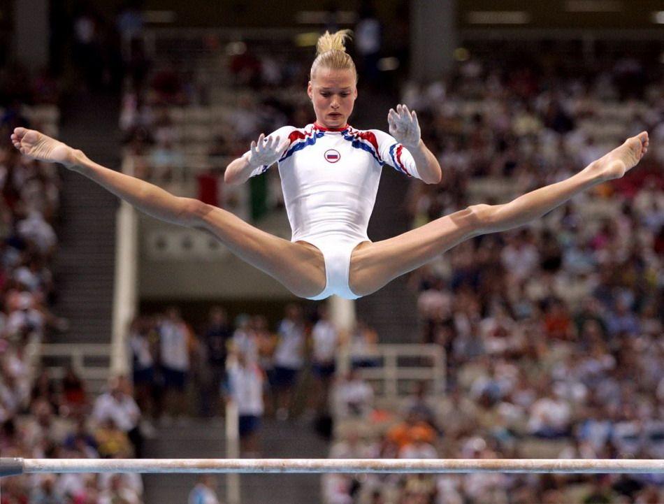 леандры необычные фотографии спортсменок тому, что часть