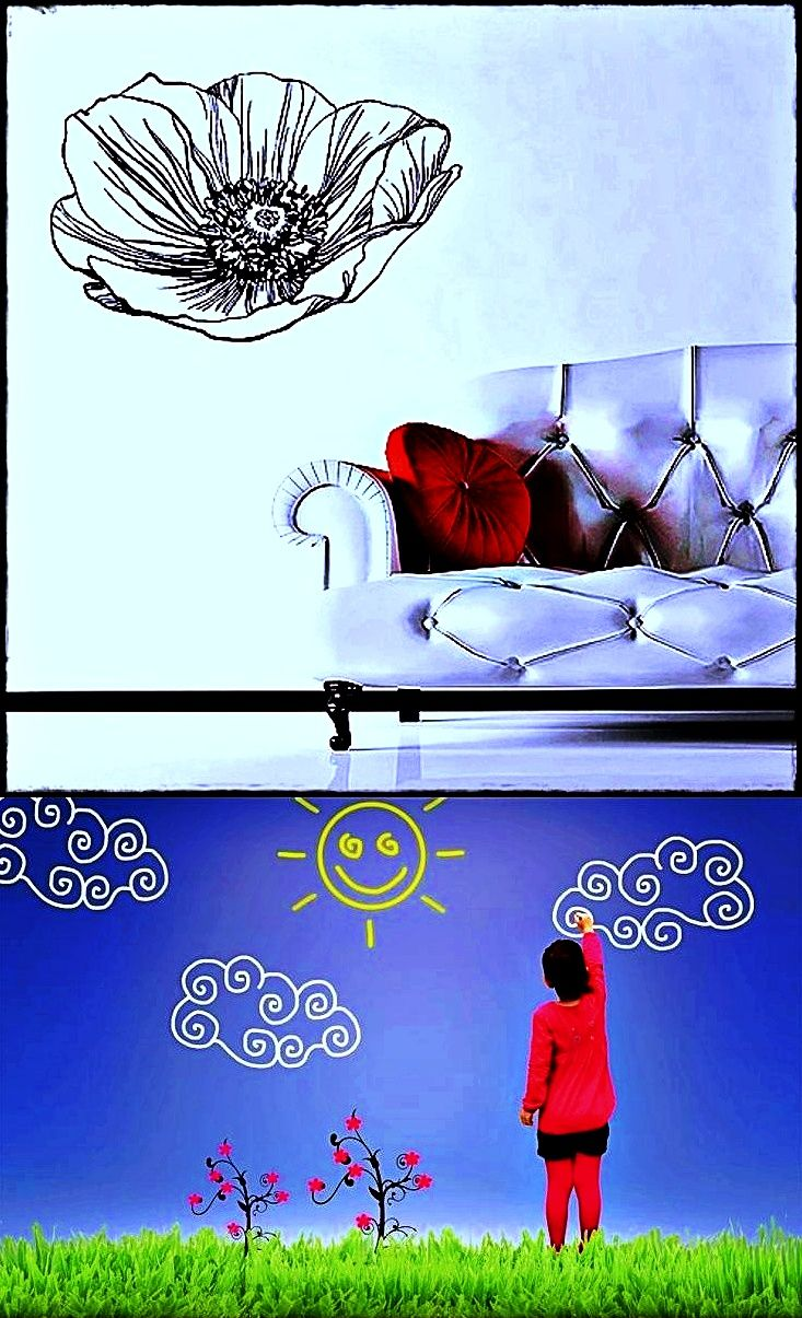 big wall decals for bedroom - Incredible ...