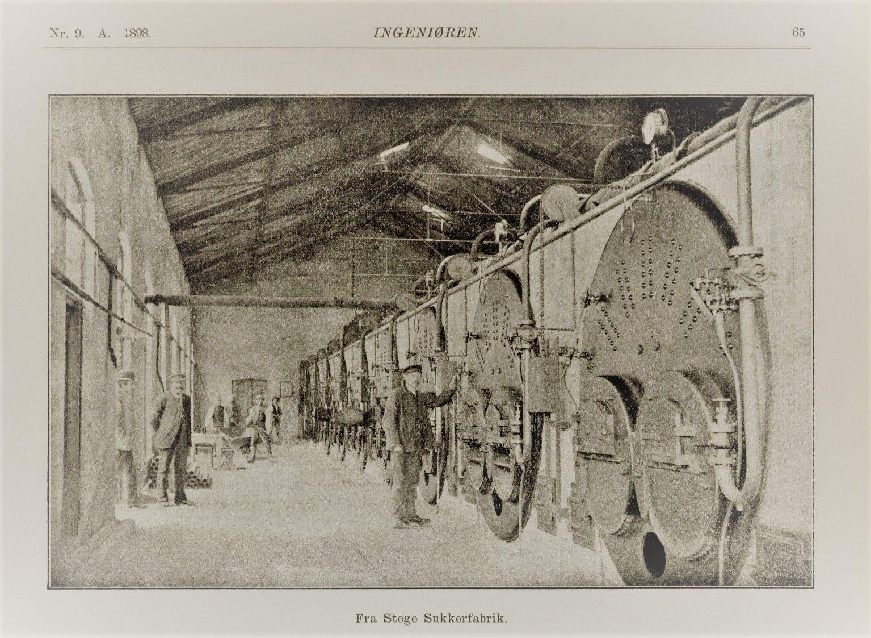 Sukkerfabrikken Stege Billeder Monet Gamle Billeder
